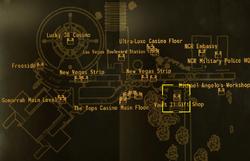 Vault 21 map
