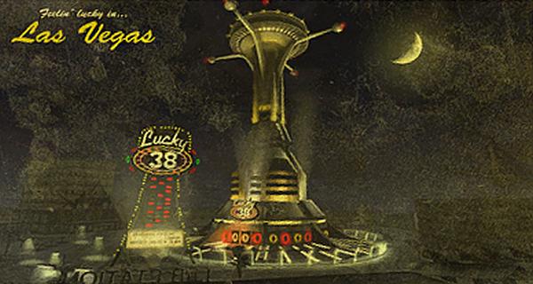 FNV Lucky 38 Postcard