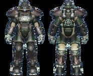 FO4CC T-51 power armor gunner sergeant