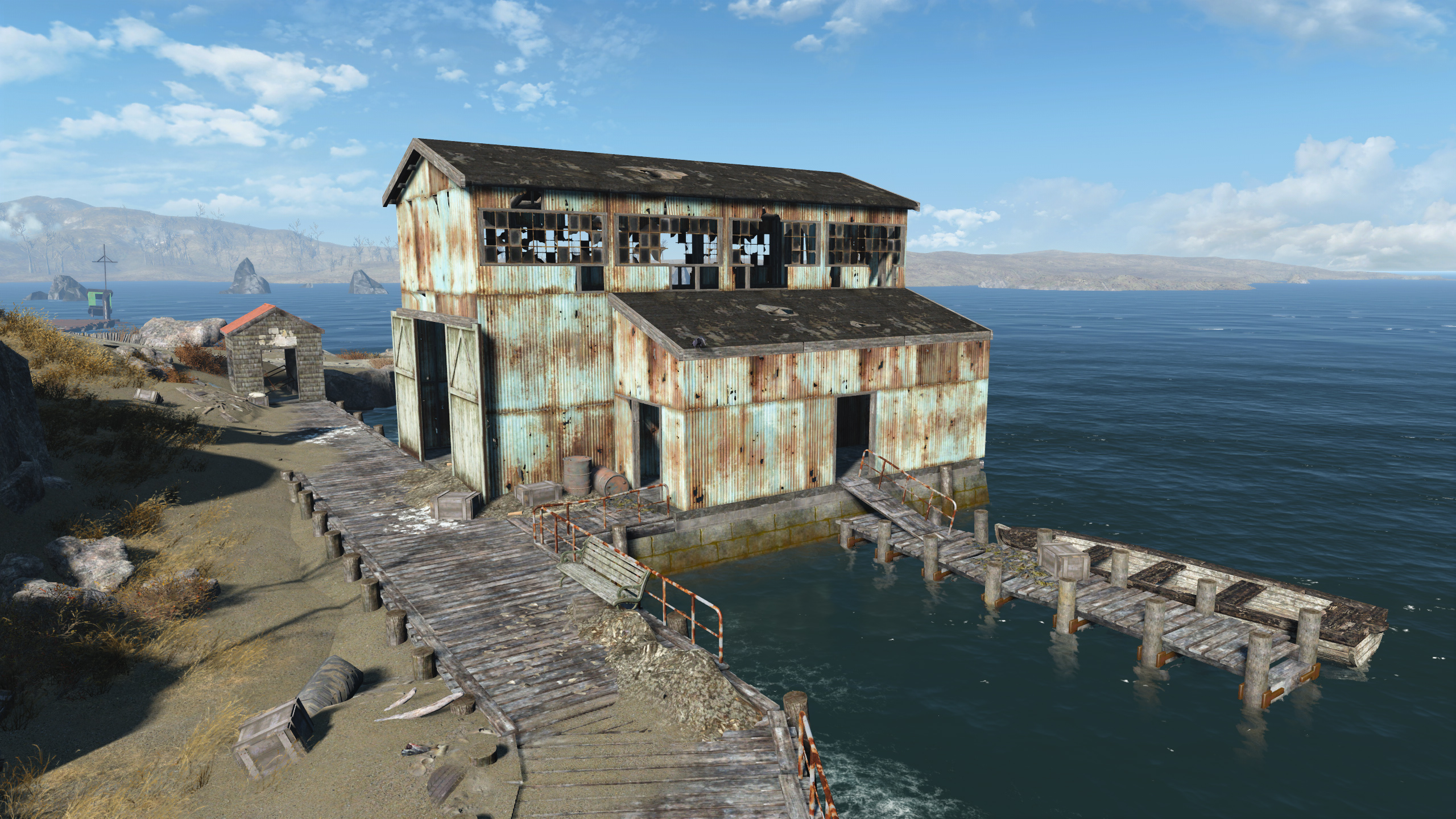 FO4 Salem Wharf Warehouse