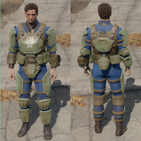 FO4 Sturdy combat armor general view