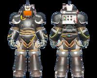 CC-00 power armor Enclave paint