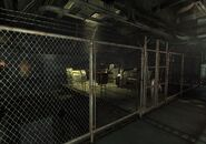 County sewer mainline Sewer maintenance control cage