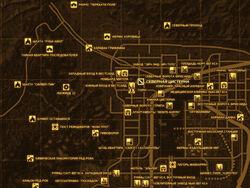 FNV Карта СЕВЕРНАЯ ЦИСТЕРНА