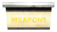 FO4 Weapons Stand Counter