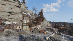 FO76 North cutthroat camp