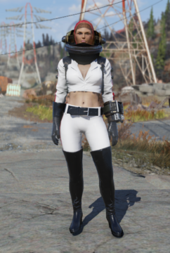 Fallout 76 Nuka Girl Rocketsuit