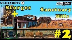 Fallout Shelter Online - Зачистка Sanctuary Hills присоединяется Стурджес 2
