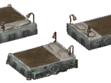 Fallout and Fallout 2 world objects