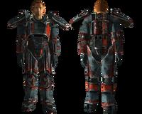 Lindens Outcast power armor