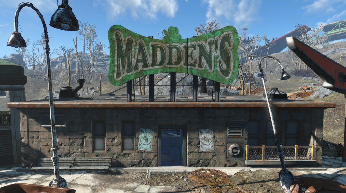 Madden s gym fallout wiki fandom powered by wikia