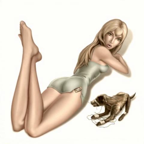 Зображення Мері, доступне після завершення гри