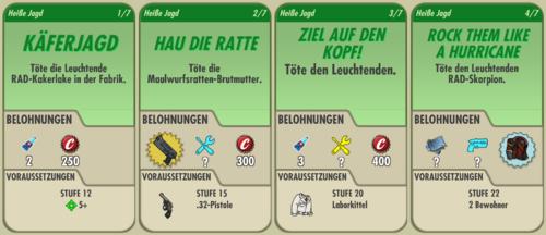 Questreihe Heiße Jagd 1 - 4