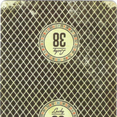 The Lucky 38 playing card from the collector's edition of the game