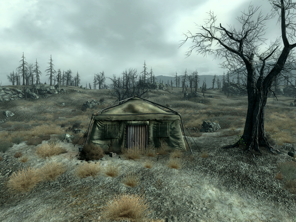 abandoned tent fallout wiki fandom powered by wikia