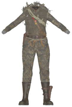 FO76 Deathclaw Hunter Outfit