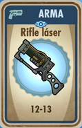 FOS Rifle láser carta