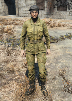 Fo4Military Fatigues