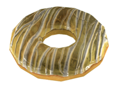 Fo4 Deezer's Lemon Cake Donut