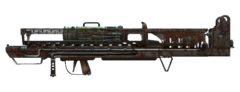 Fo4 weapon Fat Man MIRV launcher side
