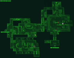 Med-Tek Sub-Levels map