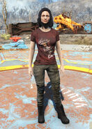 Nuka-Girl t-shirt female