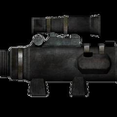 Varmint rifle scope