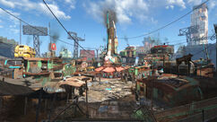 Diamond City overview