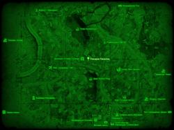 FO4 Пекарня Пинелли (карта мира)