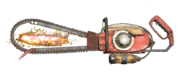 FO76 Chainsaw longbar flamer