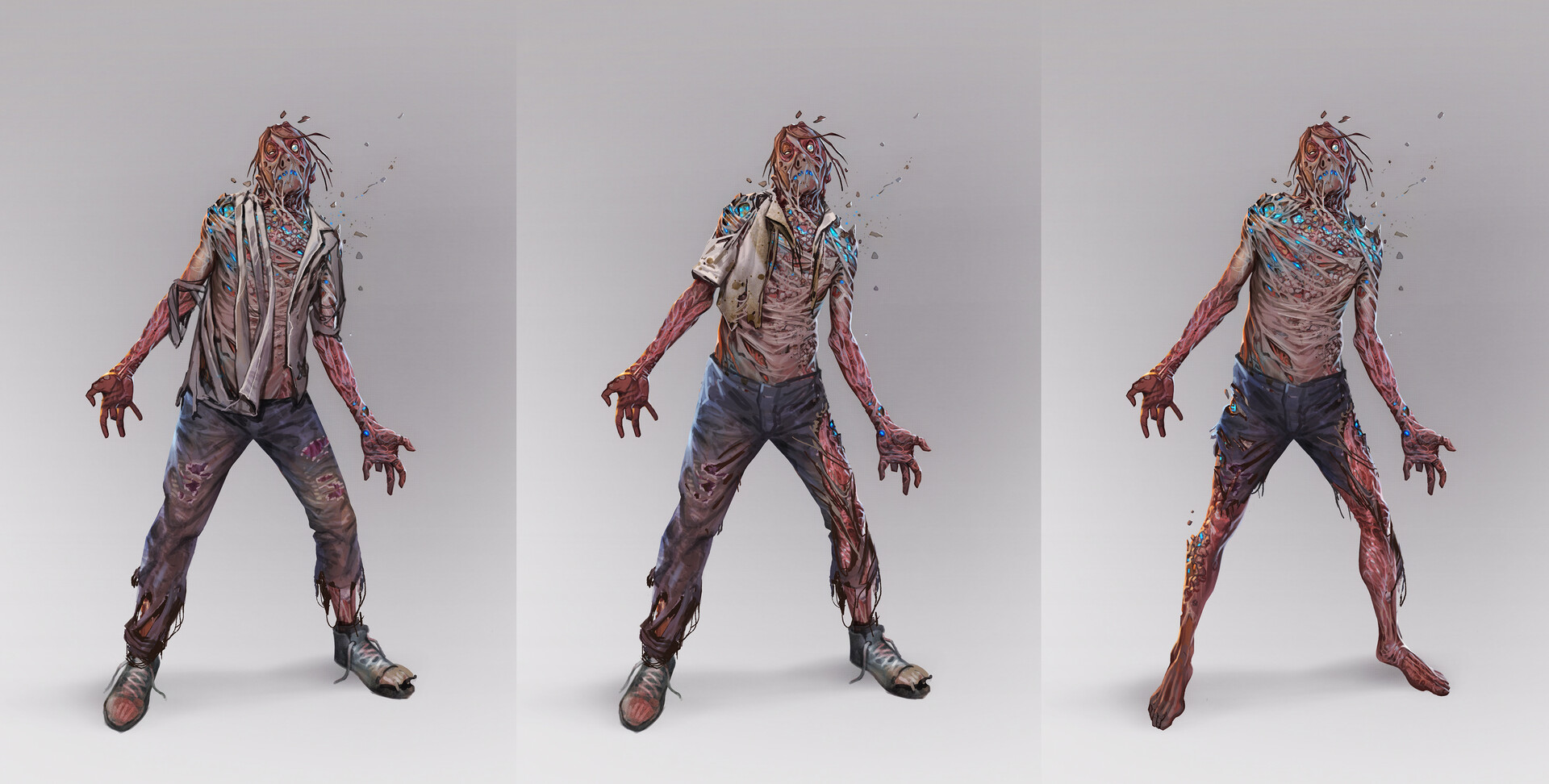 FO76 Concept art scorched ghouls of Appalachia (3)