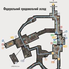 Карта підземної частини