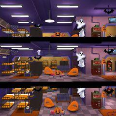 Святкове оформлення кімнати на Хеллоуїн