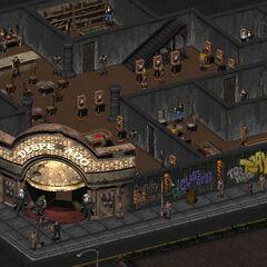 Вид на перший поверх казино «Десперадо»