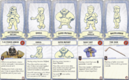 FBG Player characters cards