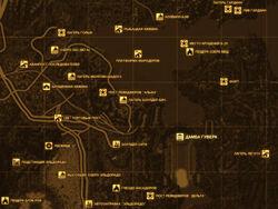 FNV Карта ДАМБА ГУВЕРА