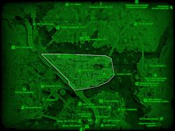 FO4 Чарльзтаун (карта мира)