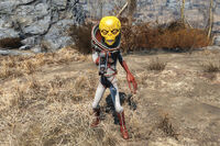 FO4 Alien with atomizer