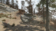 FO76 Central Mountain lookout (Travel encounters place)