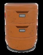 Fo4VW-Short-orange-file-cabinet