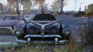 Fo76 limousine front view
