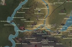 Summersville Dam map