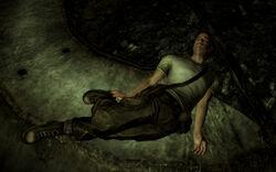 Blind Luke corpse