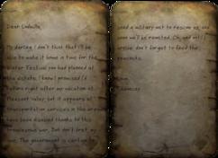 Chauncy's note