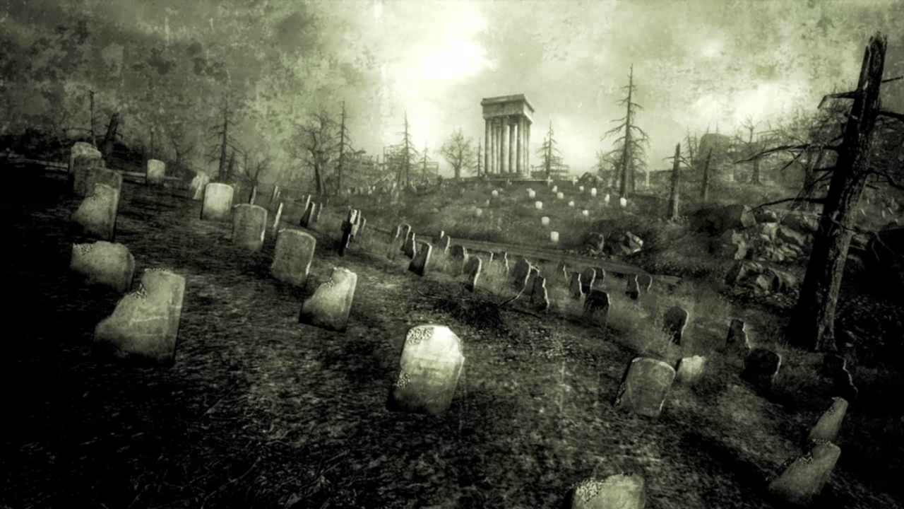 FO3 Arlington Cemetery endslide