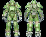 FO4CC T-45 power armor green