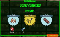 FoS The Cat Burglar rewards