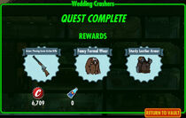 FoS Wedding Crashers rewards