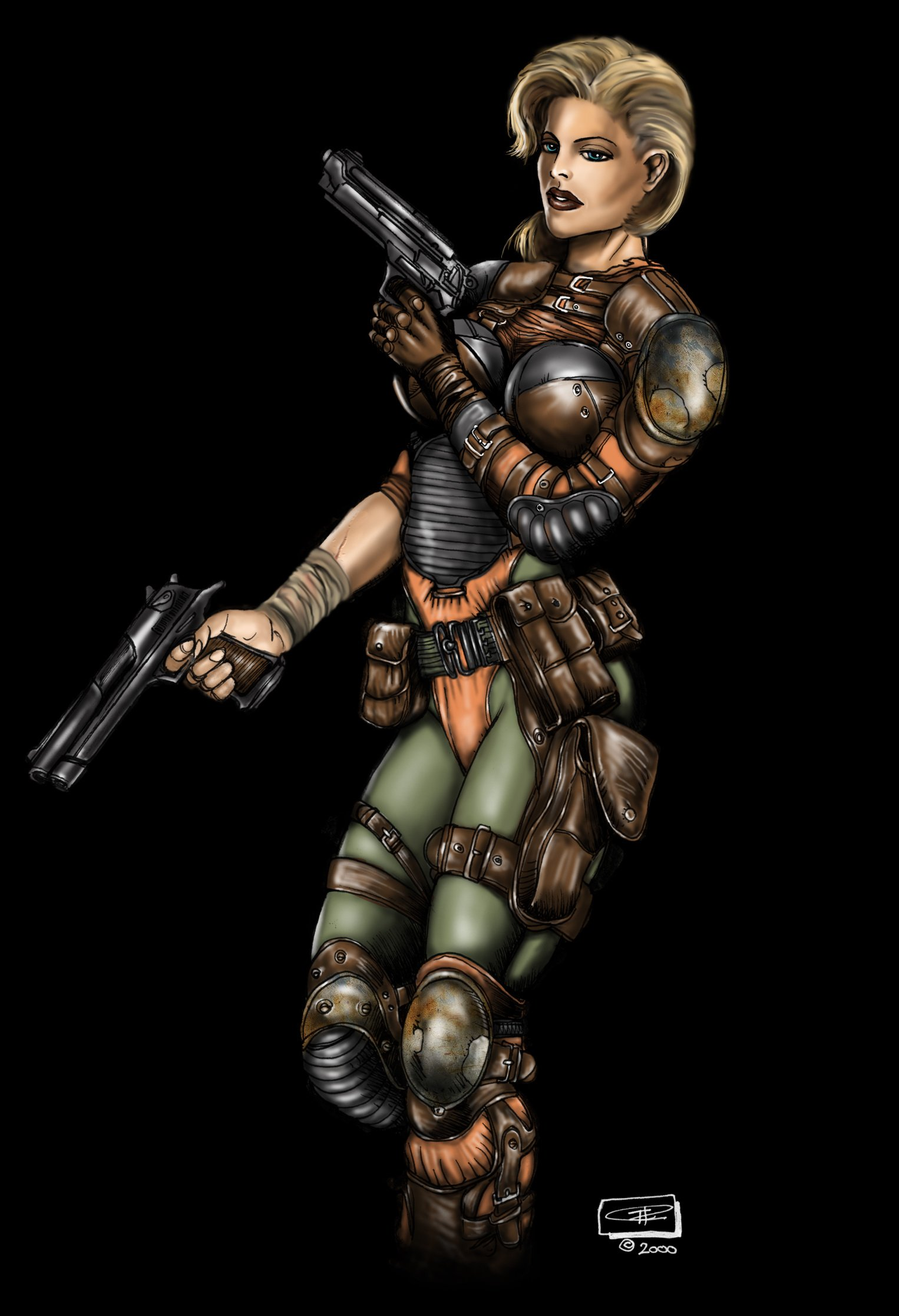 Leather Armor Female