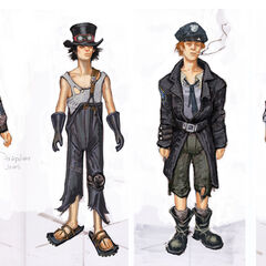 Little Lamplight children concept art